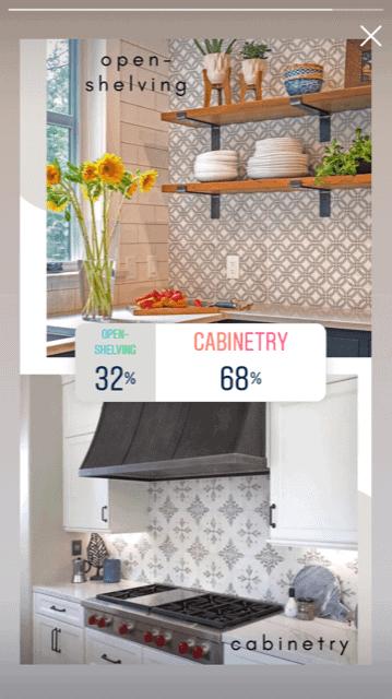 Instagram Poll Wood Kitchen Cabinets