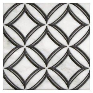 Ellipse pattern in Noire Black