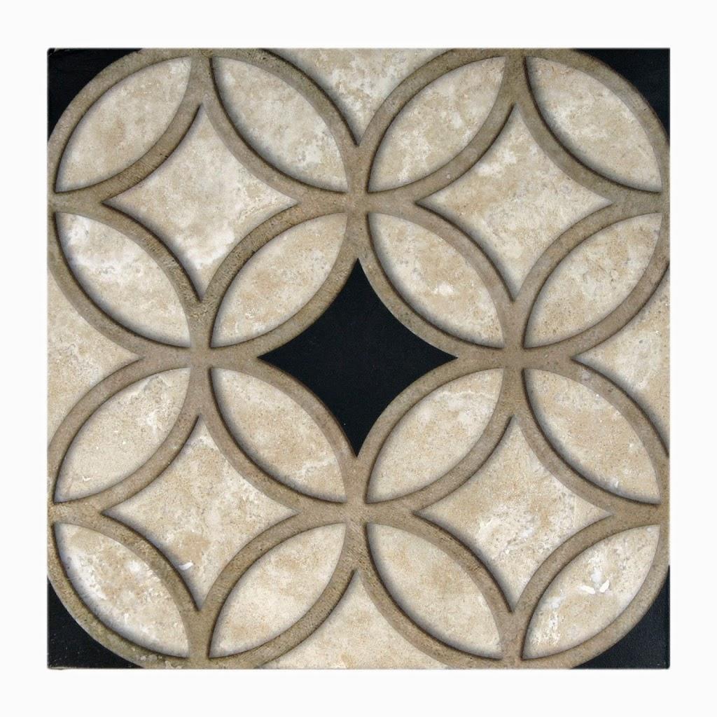 Ravina pattern black
