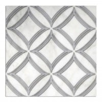 circles ellipse collection chrome gray noire black azure blue 12x12 marble stone tile designs