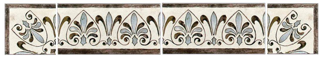 Madison Listellos and Corners french country tile backsplash