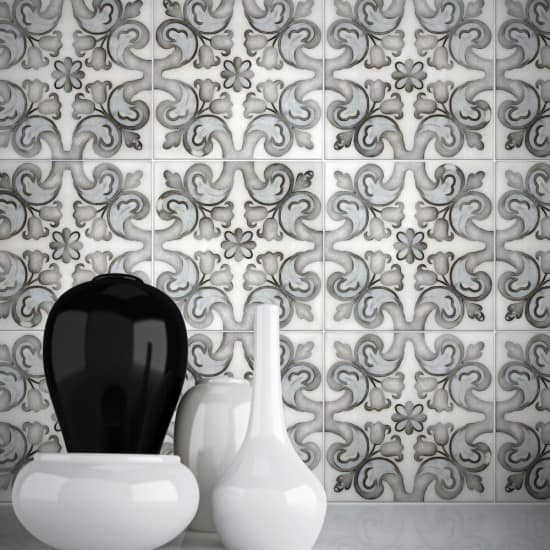 unique floral tile patterns stone tile designs for bathroom wall backsplash flooring ready to ship in stock