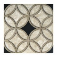 travertine patterned tiles listellos corners natural durango stone designer designs decorative