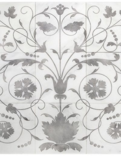 Ava iron mural Carrara Product Shot