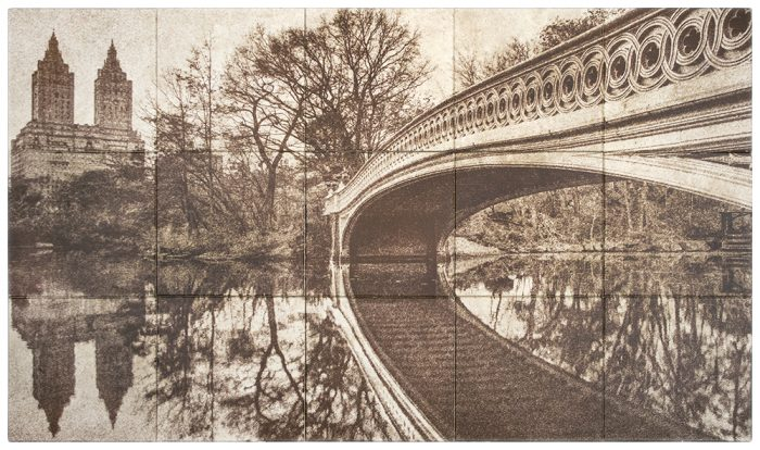 Bow Bridge Sepia Crema Ella Discontinued Stone