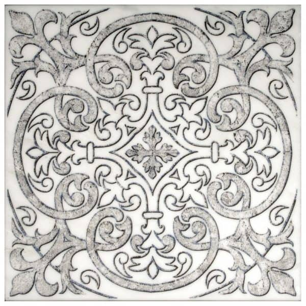 Single tile featuring Chateau Pattern