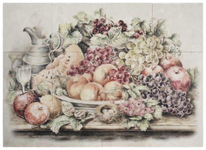 Fruttetto Mural Limestone