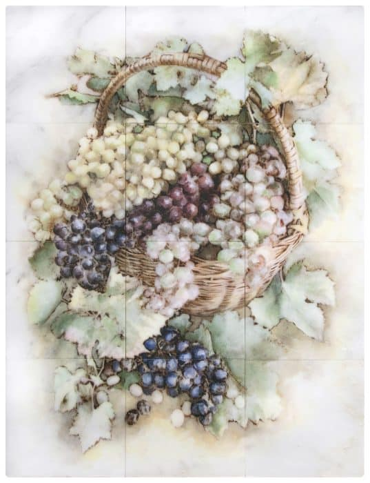 Grape Harvest Mural Carrara