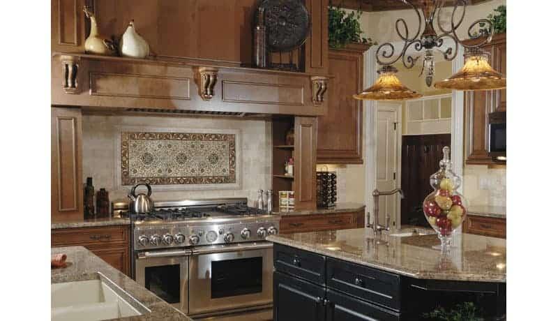 marseille red kitchen backsplash wide old italian
