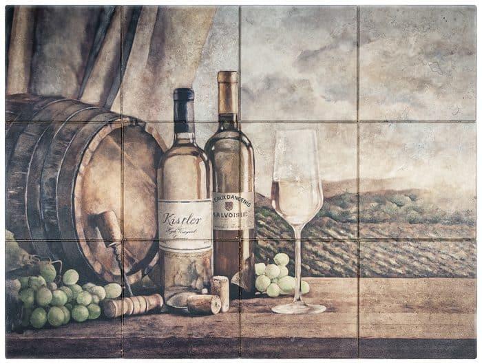 Vin Blanc Mural Rendering