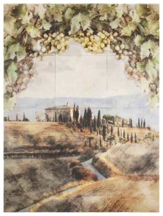 Vintage View Mural