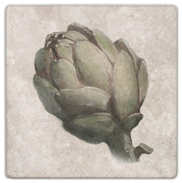 Cynara Artichoke Accent on perle Blanc