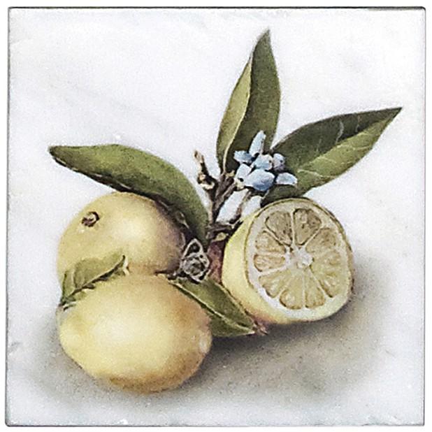 Citron Triple Flower Accent