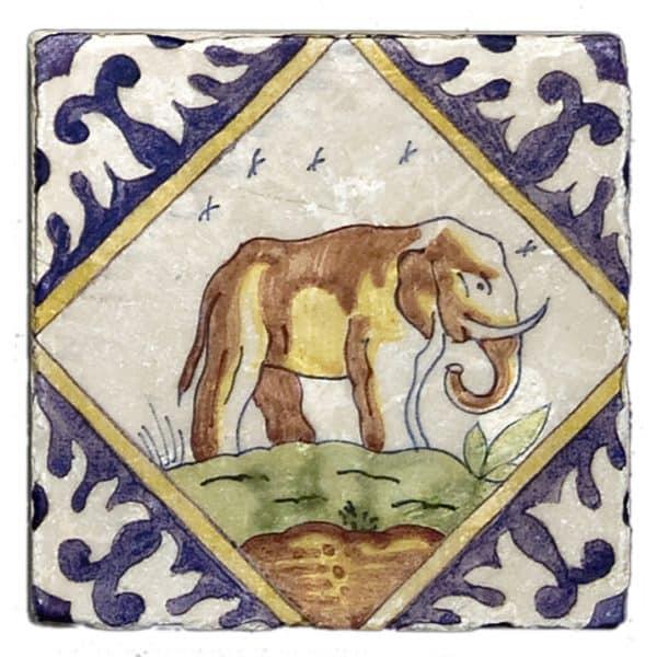 Delft Elephant Accent Botticino
