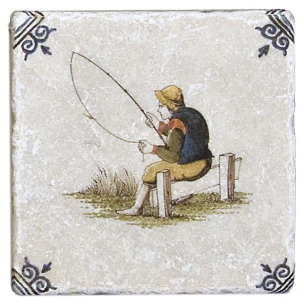 Delft Fishing Accent Botticino
