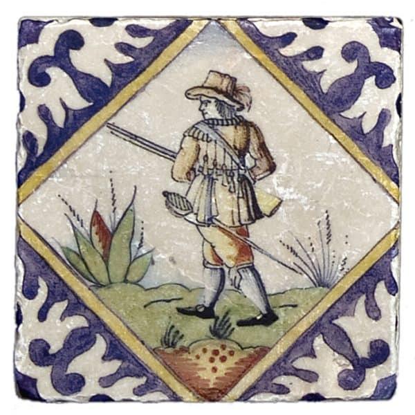 Delft Hunting Accent Botticino