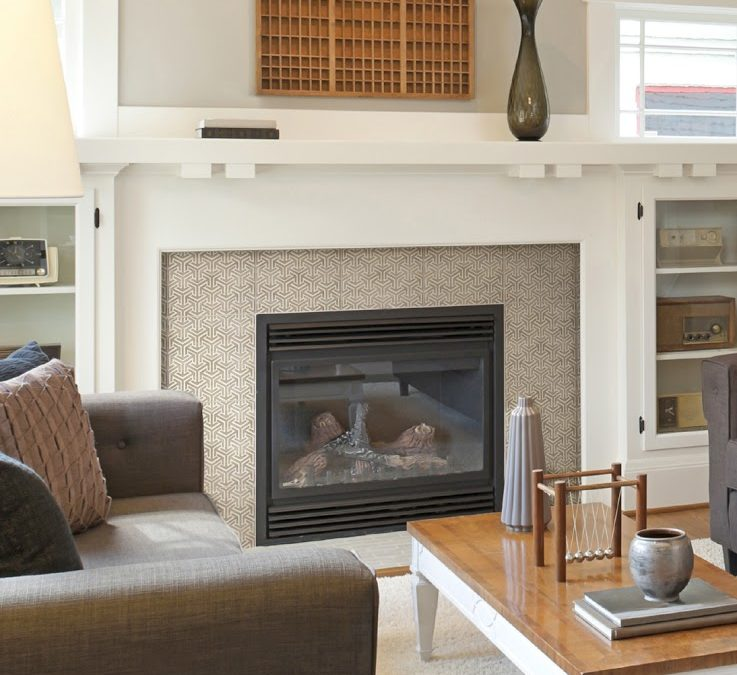 Pattern Tiles: A Perfect Choice for Your Fireplace