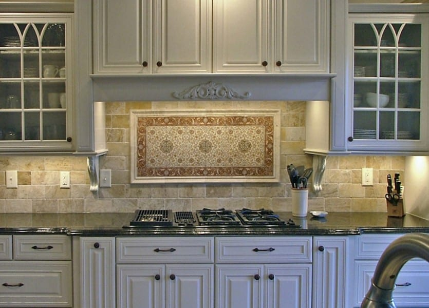 kitchen stone backsplash design ideas french inspired beautiful and unique focal point conversation piece unique rustic colorful high-end designs and patterns