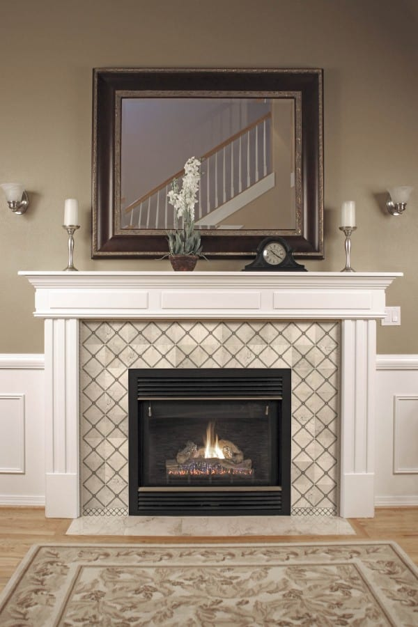 Midway Fireplace Install Carrara