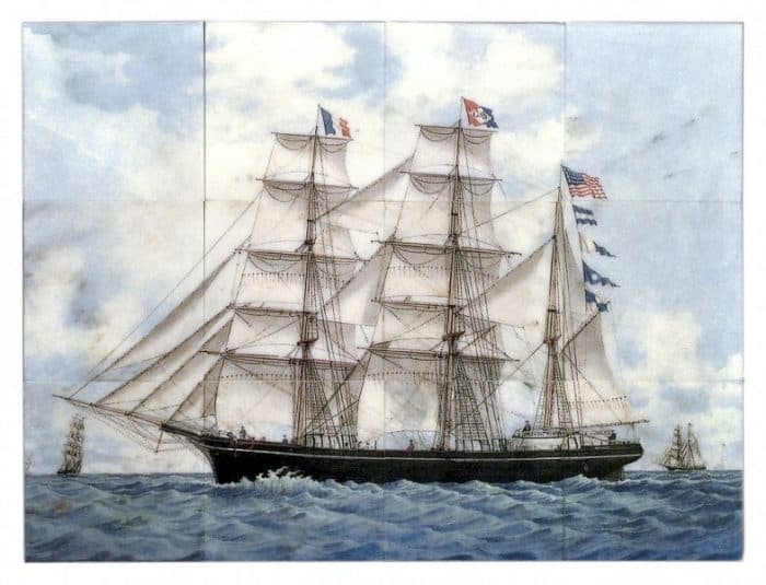 sailboat murals tallships nautical ocean made to order custom murals