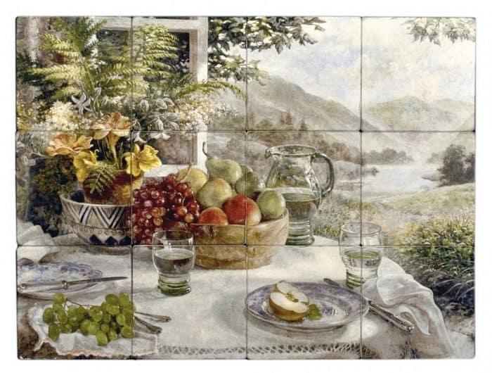 Morning Table Mural Botticino