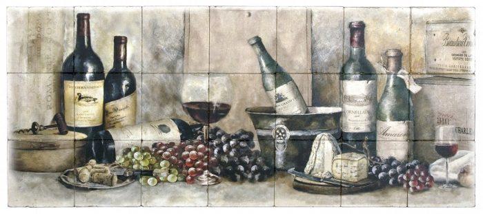 Vineyard Feast Mural