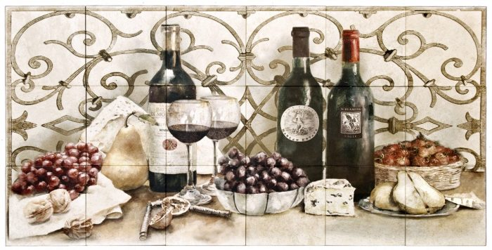 Wine Tasting Mural