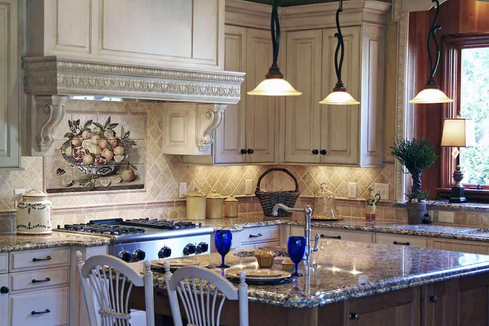 Citron Mural Kitchen Installation Rendering