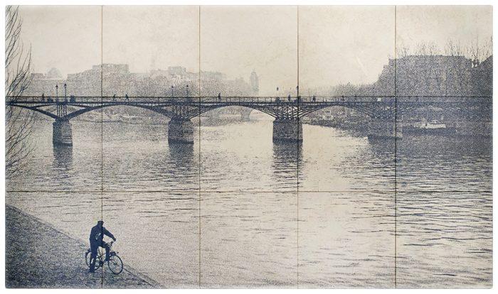 Lovers Bridge Blue