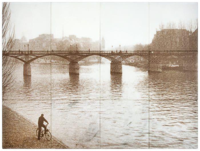Lovers Bridge Sepia