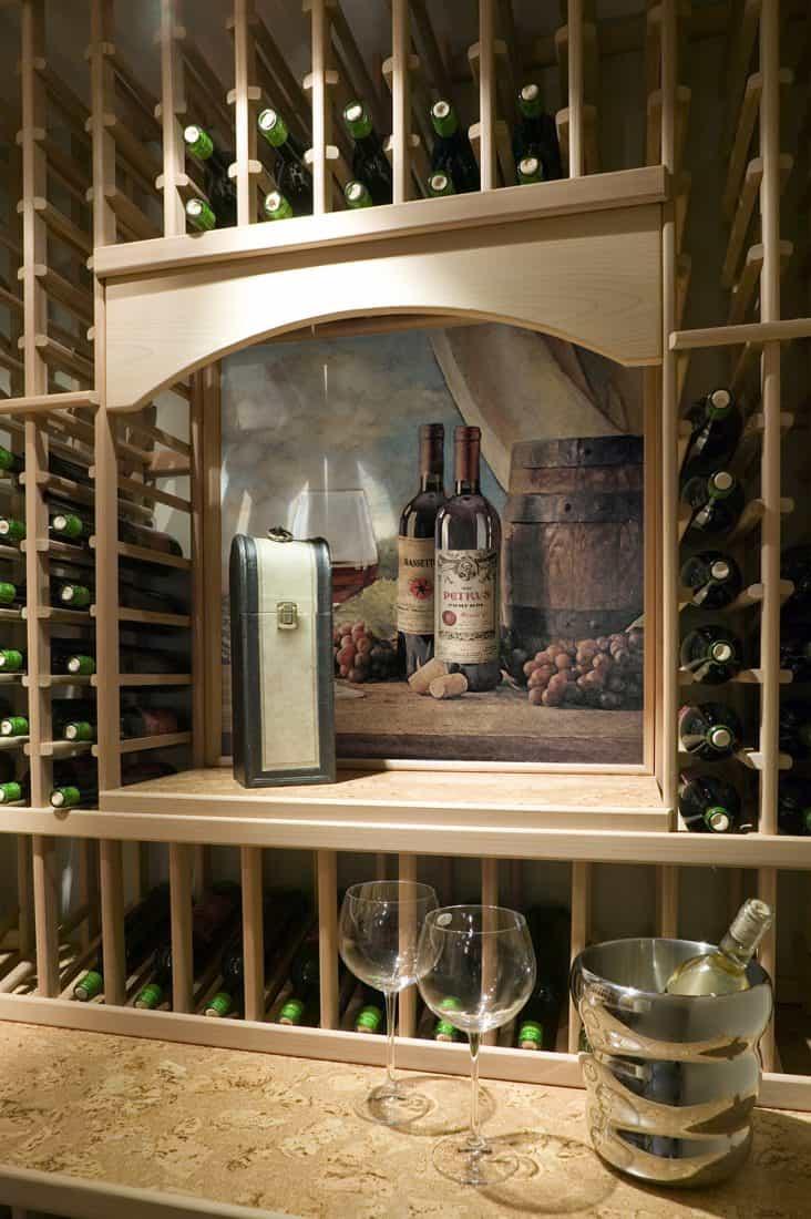 Vin Rouge Wine Cellar Install Shot