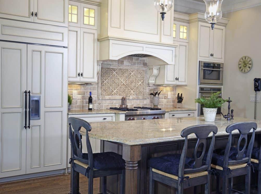 Timeless decorative Kitchen Backsplash featuring Dulzura Collection