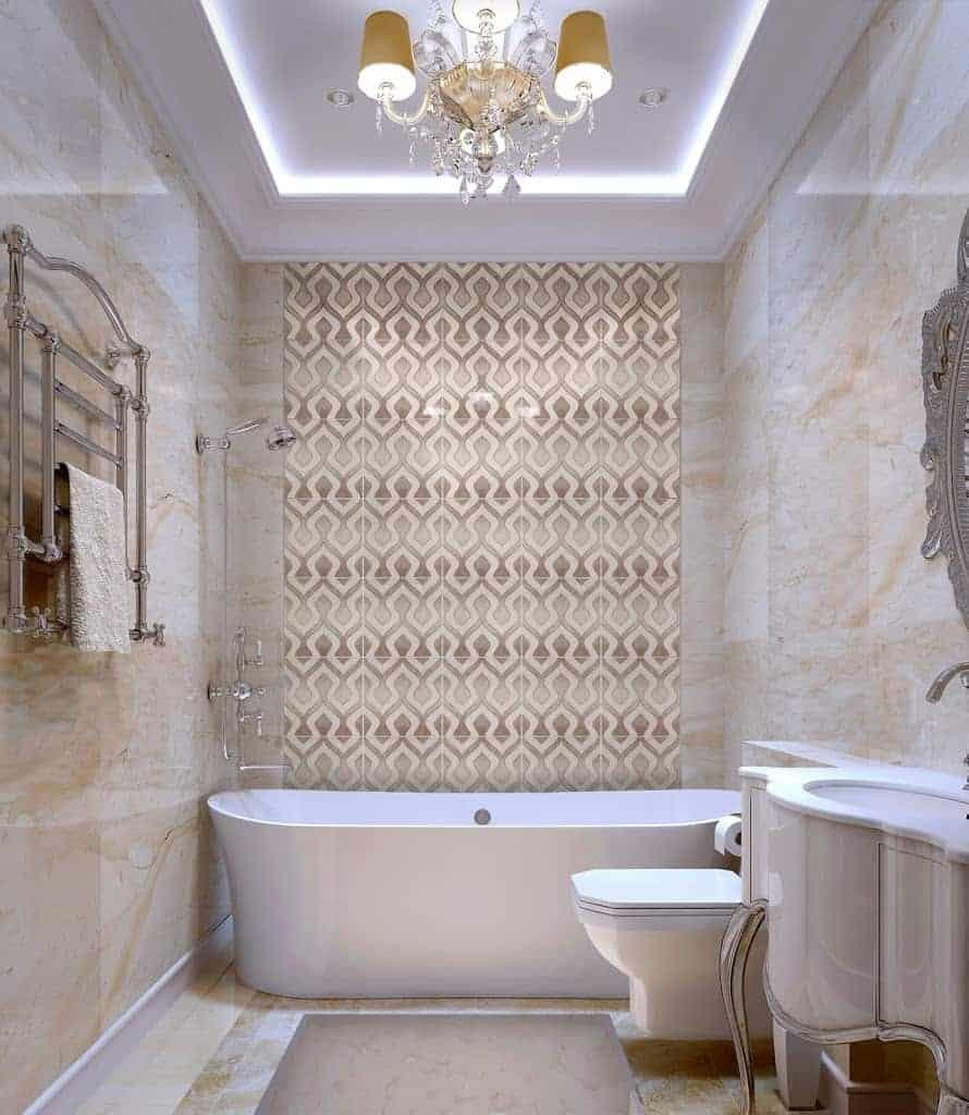 Morocco Beige Limestone Bathroom Install Beige Tones