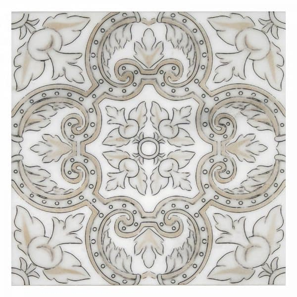 Arya Autumn Carrara Marble