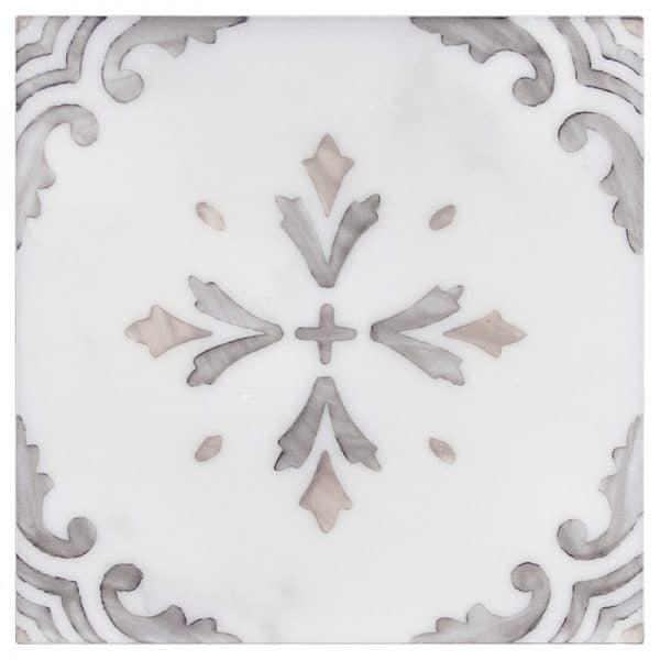 Crystal Topaz Carrara Marble