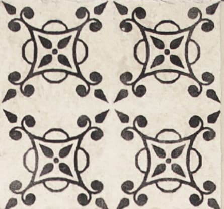Damico Collection single tile in DD58 Pattern featured on Natural Stone