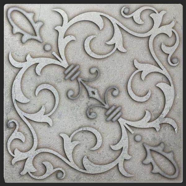 Jacquard Quartz Silver Luster Limestone