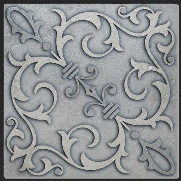 Jacquard Topaz Silver Luster Limestone