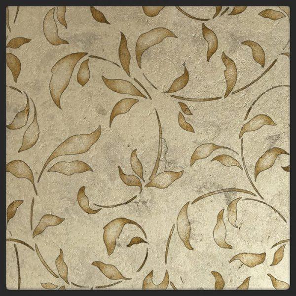 Loire Citrine Gold Luster Limestone Glaze