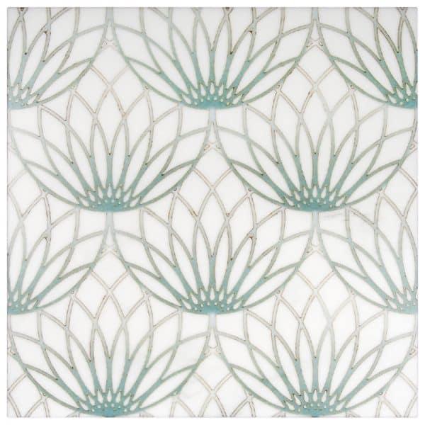 Lotus Envy Thassos Marble