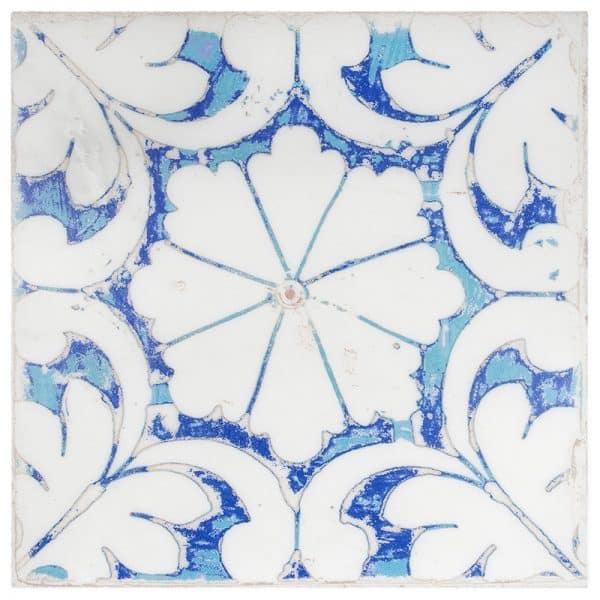 Oasis Cobalt Carrara Marble