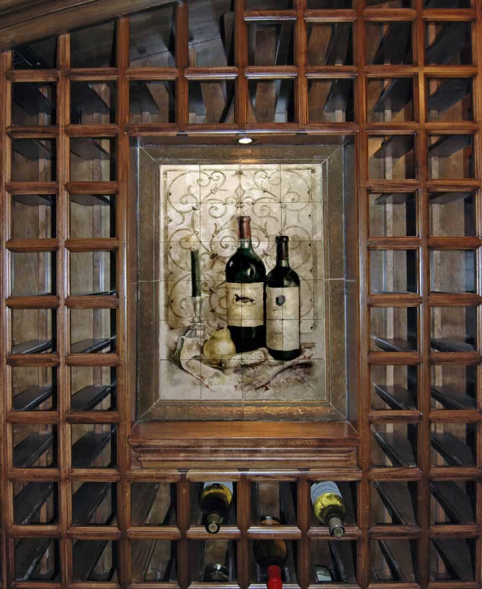 Opus Mural Wine Cellar