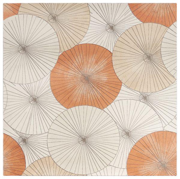 Parasol Poppy Calcario Limestone