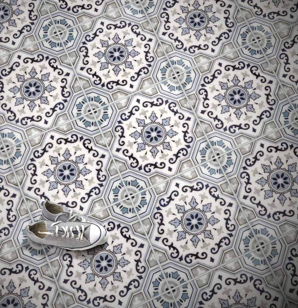 Sanza Original Blue Floor