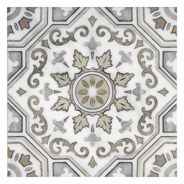 Sanza Sesame Carrara Marble