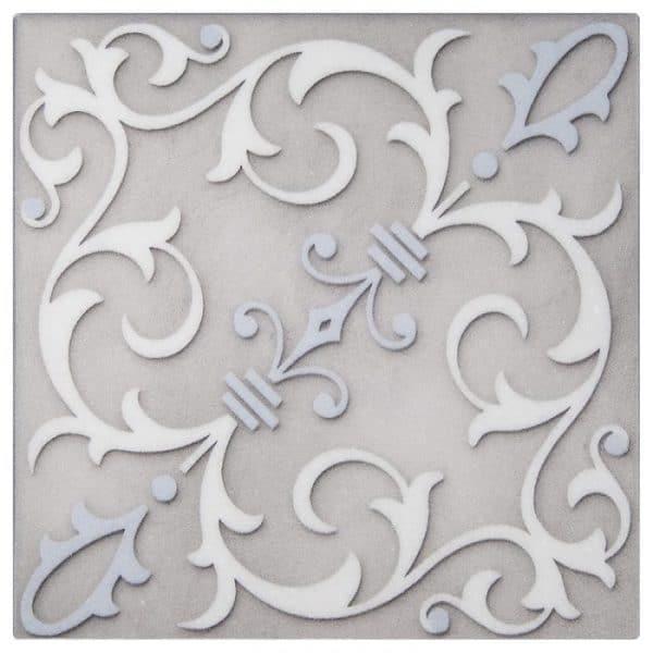 Jacquard Platinum Thassos Marble
