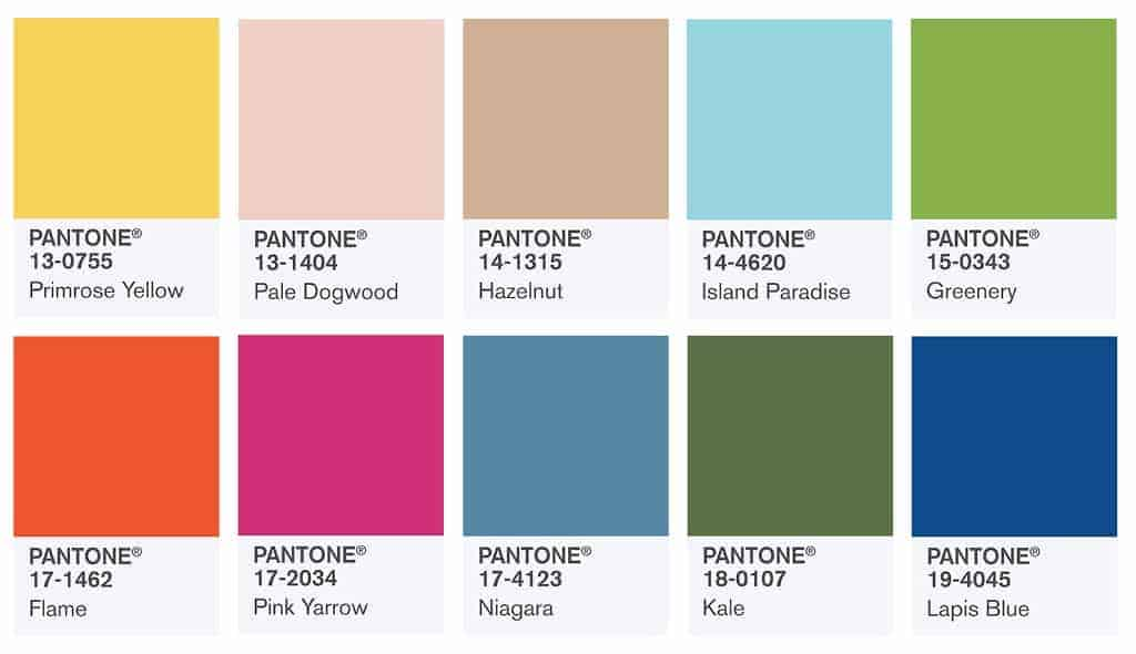 Tile Report: Spring Colors