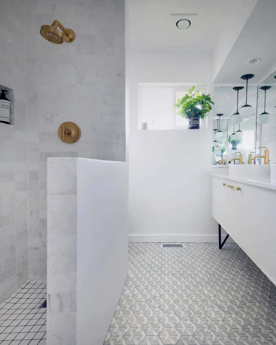 Alston Tribeca Grove Bathroom Install Modern Ultra White