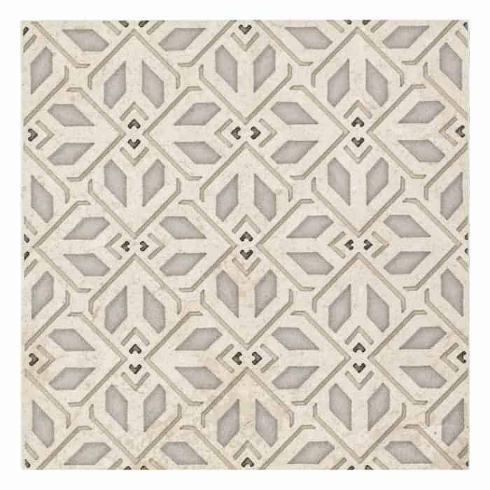 Avery Petite Pattern (Latte) on Limestone