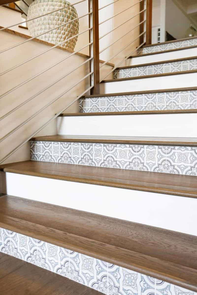 Lena tile stair risers